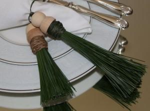 pine tree napkin ring